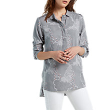 Buy White Stuff Etta Shirt, Ice Grey Print Online at johnlewis.com