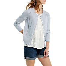 Buy White Stuff Pebbled Lace Cotton Cardigan Online at johnlewis.com