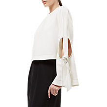 Buy Jaeger Laboratory Vol. III Cut Out Elbow Top, Ivory Online at johnlewis.com