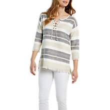 Buy White Stuff Lagoon View Jumper, Neutral Online at johnlewis.com