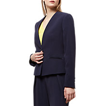 Buy Jaeger Fluid Lapel Blazer, Navy Online at johnlewis.com