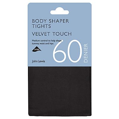 John Lewis 60 Denier Velvet Touch Body Shaper Opaque Tights