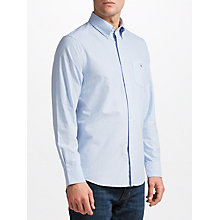 Buy Gant Printed Oxford Dot Shirt, Capri Blue Online at johnlewis.com