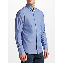 Buy Gant Plain Broadcloth Stripe Button Down Shirt Online at johnlewis.com