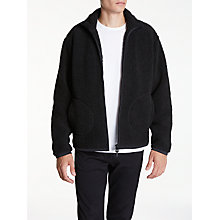 Buy Edwin Insulate Sherpa Jacket, Black Online at johnlewis.com