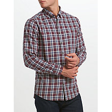 Buy Gant Nordic Plaid Shirt, Navy Multi Online at johnlewis.com