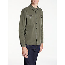 Buy Edwin Labour Four Pockets Shirt, Military Green Online at johnlewis.com