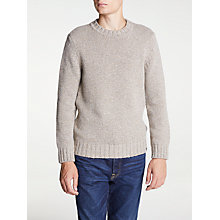 Buy Edwin Dock Jumper, Beige Marl Online at johnlewis.com
