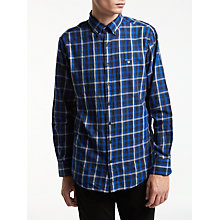 Buy Gant Nordic Plaid Shirt, Blue Online at johnlewis.com