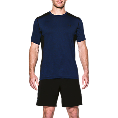 Under Armour Raid Short Sleeve T-Shirt, Navy