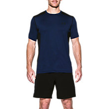 Buy Under Armour Raid Short Sleeve T-Shirt, Navy Online at johnlewis.com