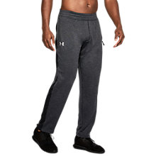 Buy Under Armour Tech Terry Joggers, Black Online at johnlewis.com