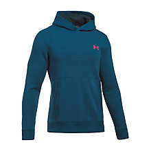 Buy Under Armour Threadborne Hoodie, Blue Online at johnlewis.com