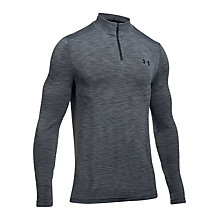 Buy Under Armour Threadborne Seamless Quarter Zip Top Online at johnlewis.com
