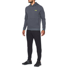 Buy Under Armour Threadborne Fleece Training Hoodie, Grey Online at johnlewis.com