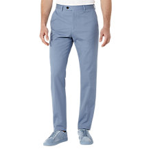 Buy Reiss Paris Slim Tailored Trousers, Soft Blue Online at johnlewis.com