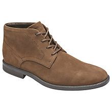 Buy Rockport Dressports Modern Chukka Boots, Brown Online at johnlewis.com