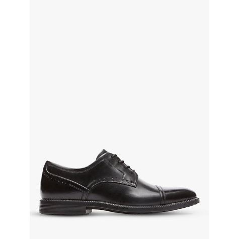 Buy Rockport Dressport Toecap Shoes, Black Online at johnlewis.com