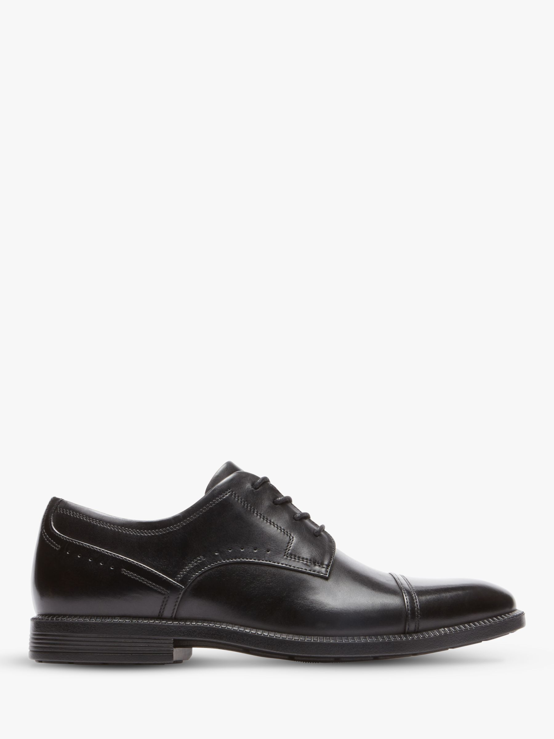 Rockport Rockport Dressport Toecap Shoes, Black