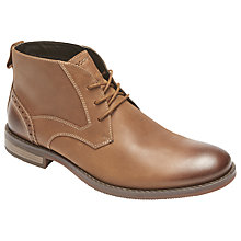 Buy Rockport Wynstin Chukka Boots, Brown Online at johnlewis.com