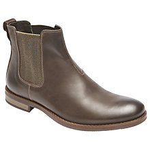 Buy Rockport Wynstin Chelsea Boots, Brown Online at johnlewis.com