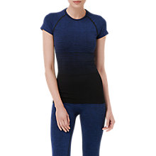Buy L.K. Bennett Giselle Blend Stripe Top, Klein Blue Online at johnlewis.com