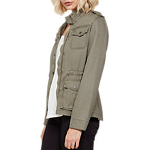 Buy Mint Velvet Pocket Detail Jacket, Dark Green Online at johnlewis.com