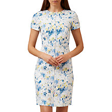 Buy Hobbs Alaina Floral Dress, Ivory/Multi Online at johnlewis.com
