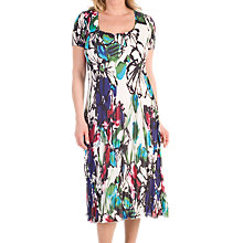 Buy Chesca Floral Print Dress, Raspberry Online at johnlewis.com