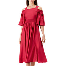 Buy Hobbs Sienna Dress, Raspberry Online at johnlewis.com