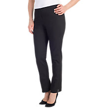 Buy Chesca Stretch Slim Leg Trousers, Black Online at johnlewis.com
