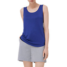 Buy L.K. Bennett Reversible Vest Top, Blue/Black Online at johnlewis.com