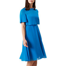 Buy Hobbs Emmeline Dress, Kingfisher Blue Online at johnlewis.com
