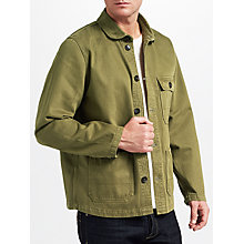 Buy JOHN LEWIS & Co. Workwear Jacket, Khaki Online at johnlewis.com