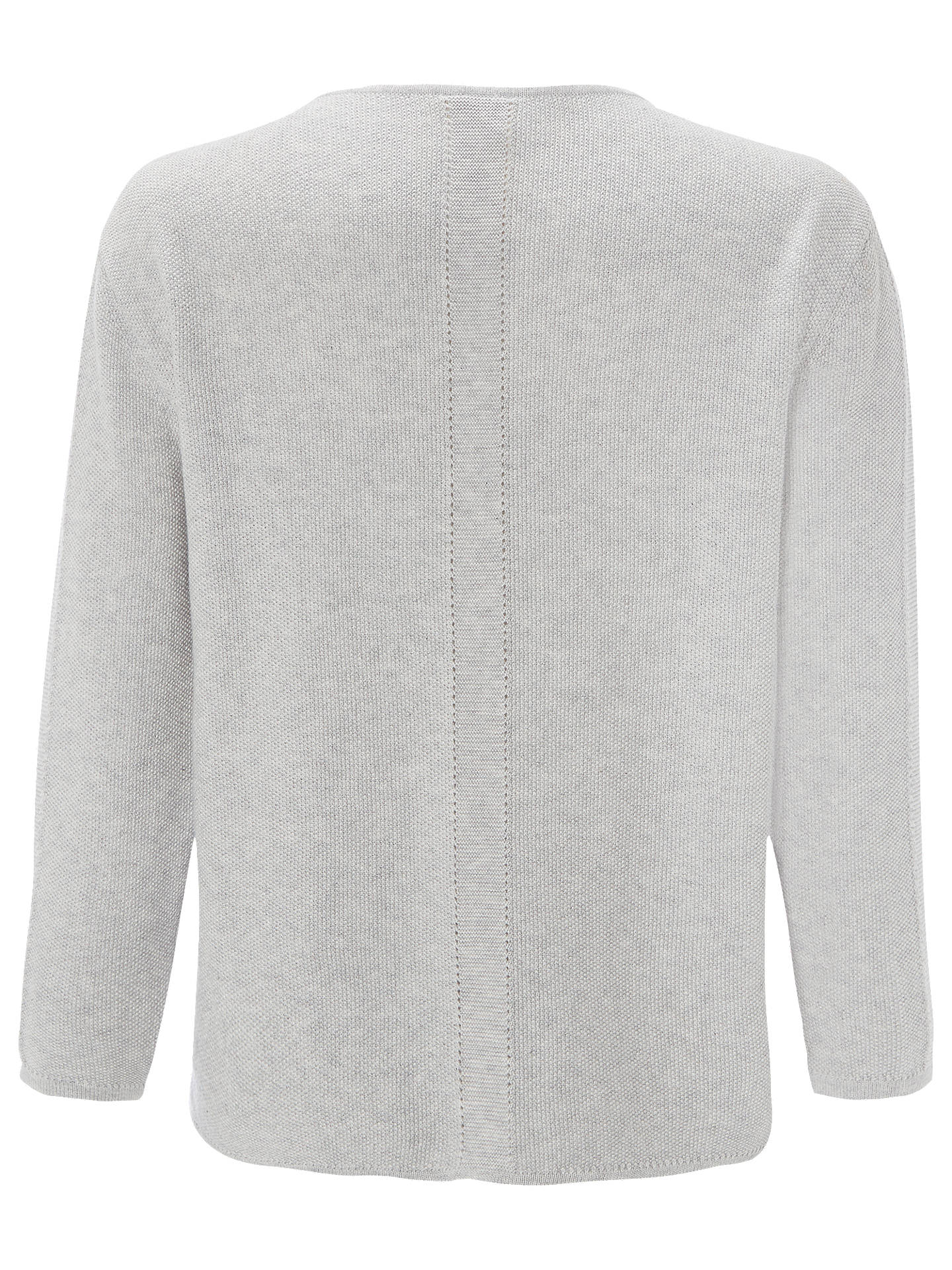 BuyWhite Stuff Canvas Tie Jumper, Silver Grey, 6 Online at johnlewis.com