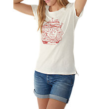 Buy Fat Face Campervan Graphic Print T-shirt Online at johnlewis.com