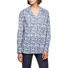 Buy Gerard Darel Patterned Blouse, Blue Online at johnlewis.com
