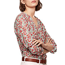 Buy Gerard Darel Chamade Shirt, Ecru/Multi Online at johnlewis.com