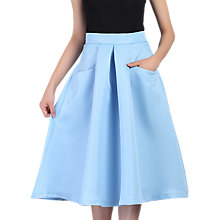 Buy Jolie Moi Pleated A-Line Skirt Online at johnlewis.com