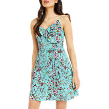 Buy Oasis Royal Worcester Collection Floral Sun Dress, Green/Multi Online at johnlewis.com