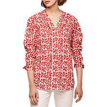 Buy Gerard Darel Patterned Blouse Online at johnlewis.com