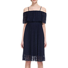 Buy Whistles Off Shoulder Pleated Dress Online at johnlewis.com