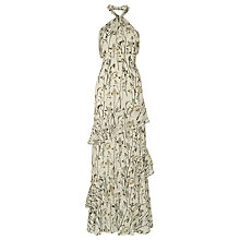 Buy Whistles Wheatsheaf Print Maxi Dress, Neutral/Multi Online at johnlewis.com