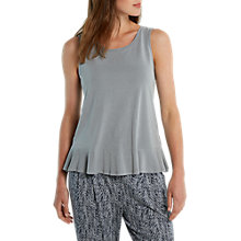 Buy White Stuff Ondine Peplum Jersey T-Shirt, Dove Grey Online at johnlewis.com