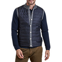 Buy Barbour Essential Gilet, Mid Grey Online at johnlewis.com