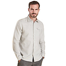 Buy Barbour Land Rover Defender Selside Long Sleeve Shirt, Grey Online at johnlewis.com