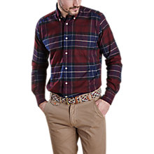Buy Barbour Lustleigh Shirt, Merlot Online at johnlewis.com