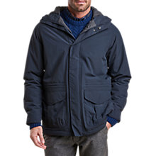 Buy Barbour Rivington Waterproof Hooded Jacket, Navy Online at johnlewis.com