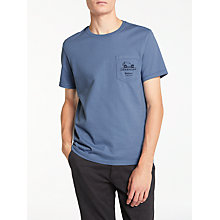 Buy Barbour Land Rover Defender Sellside T-Shirt, Admiral Blue Online at johnlewis.com