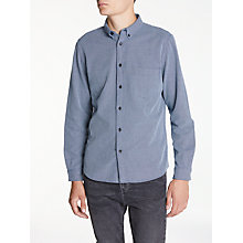 Buy Levi's Standard Long Sleeve Shirt, Indigo Dobby Online at johnlewis.com